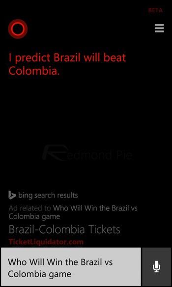 Cortana FIFA