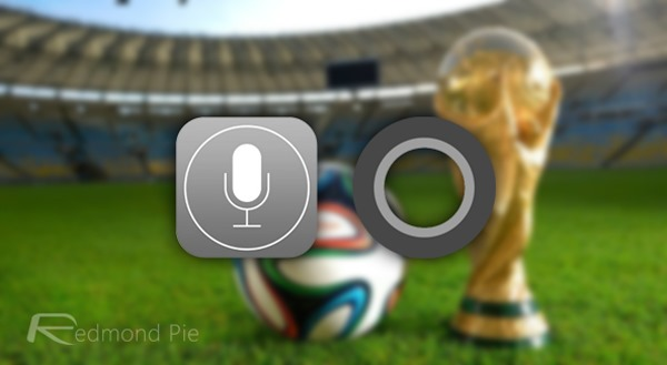 Cortana Siri WC FIFA
