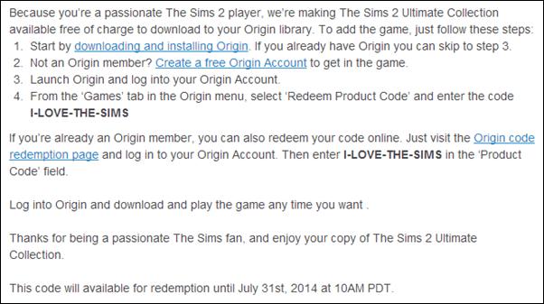 EA Sims 2
