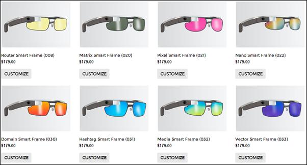 Rochester frames lenses