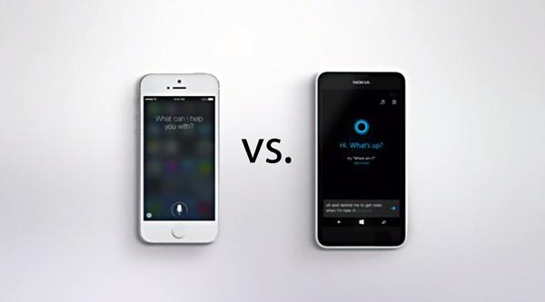 Siri Cortana ad