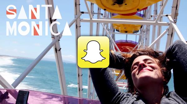Snapchat Santa Monica