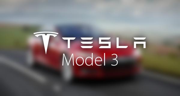 Tesla Model 3 main