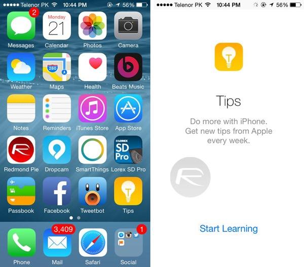 Tips app