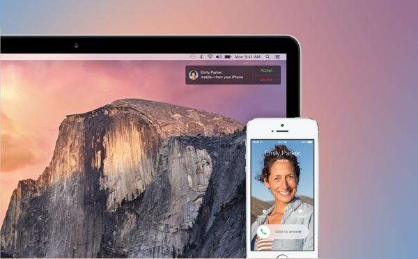 Yosemite iOS 8
