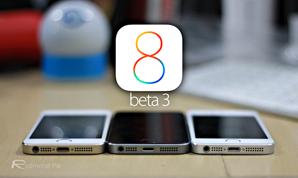 iOS 8 beta 3 main