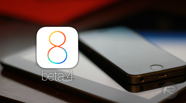 iOS 8 beta 4 main