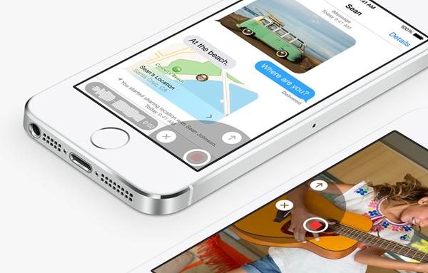 iOS 8 voice
