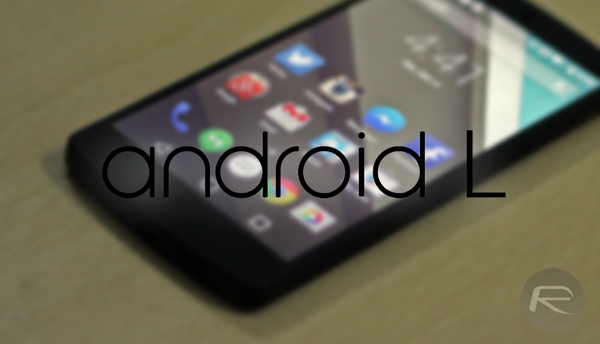 Android L main