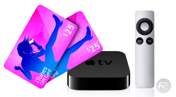 Apple TV 25 Gift Card main