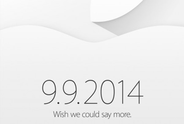 Apple iPhone 6 event invite