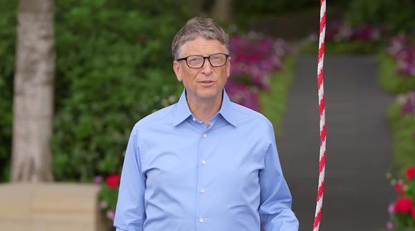 Bill Gates ice challenge