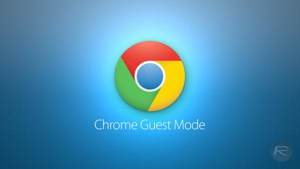 Chrome Guest Mode main