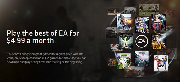 EA Access banner