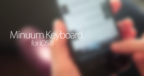 Minuum-keyboard