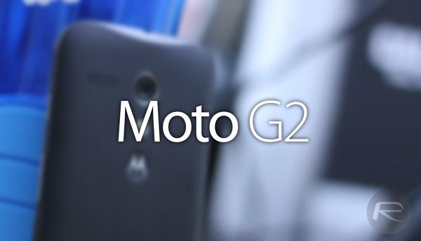Moto G2 main