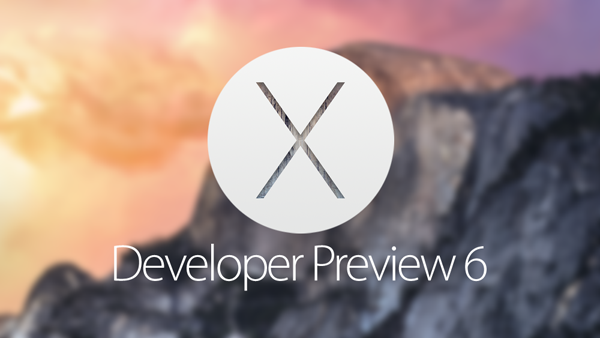 OS X Yosemite DP 6 main