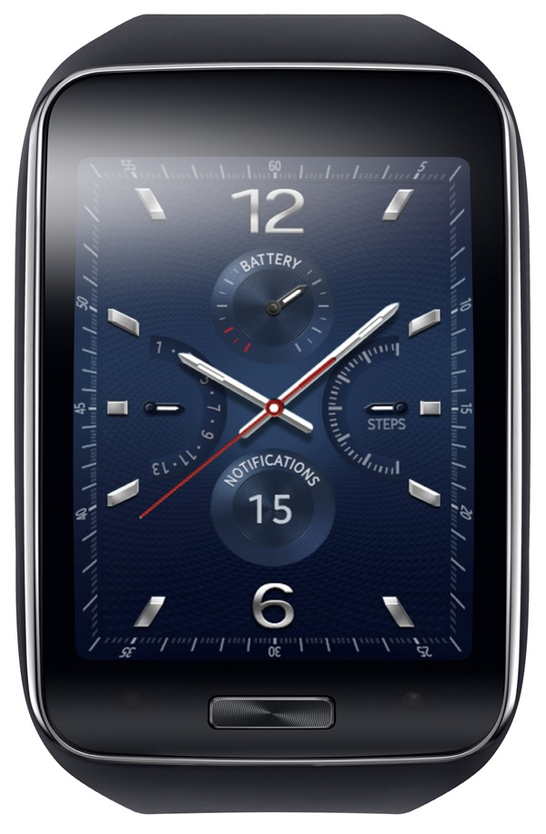 Samsung Gear S_Blue Black_1