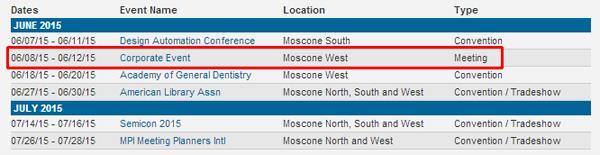 WWDC 2015 dates
