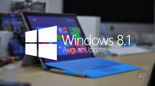 Windows 81 August Update main
