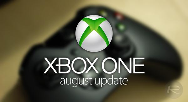 Xbox One august update main