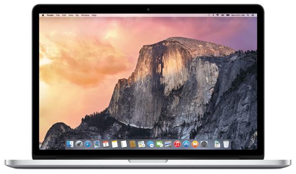 Yosemite MacBook Pro