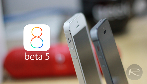 iOS 8 beta 5 main