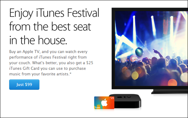 iTunes 25 Apple TV