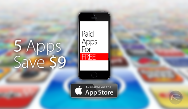 Download $9 Worth Of Paid Apps For Free On Your iOS 8 Running iPhone