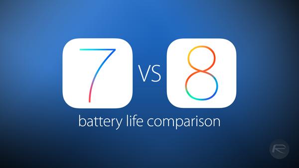 Battery life comparison main