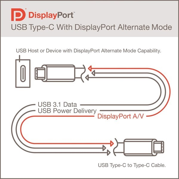 DisplayPort Type C