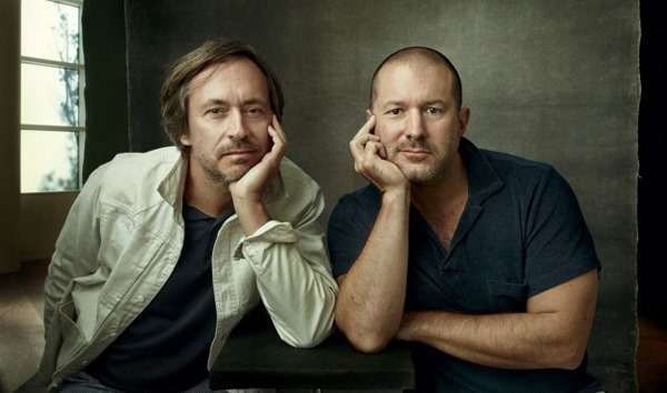 Marc Newson and Jony Ive