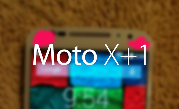 Moto X1 main