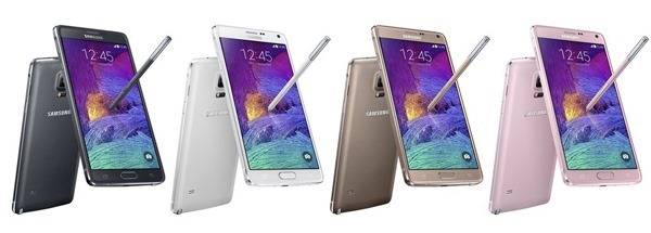 Note 4 Colors