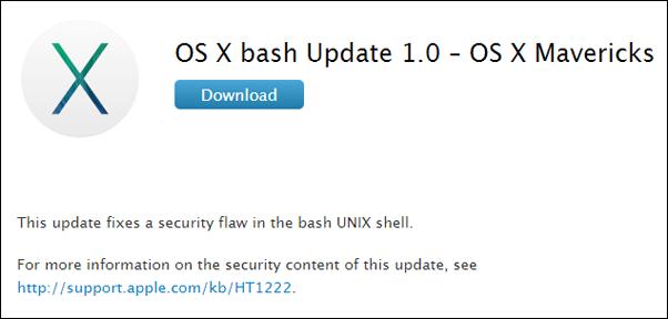 OS X Bash fix