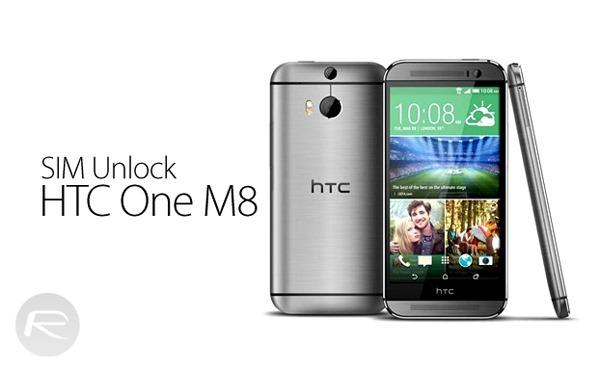 SIM unlock HTC One M8