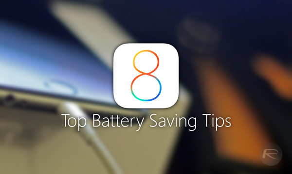 Save battery iOS 8 main