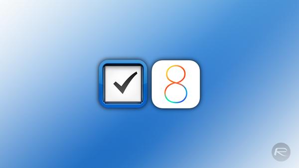 Things iOS 8