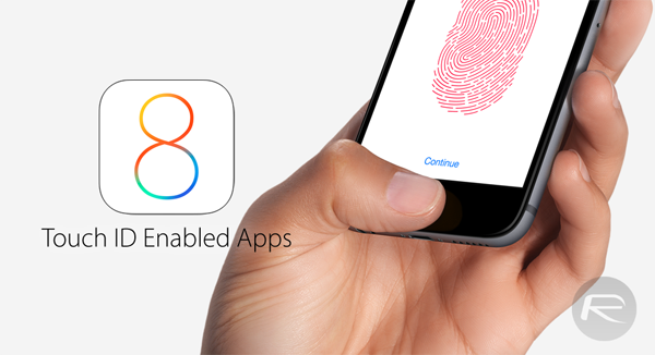 Touch ID apps main