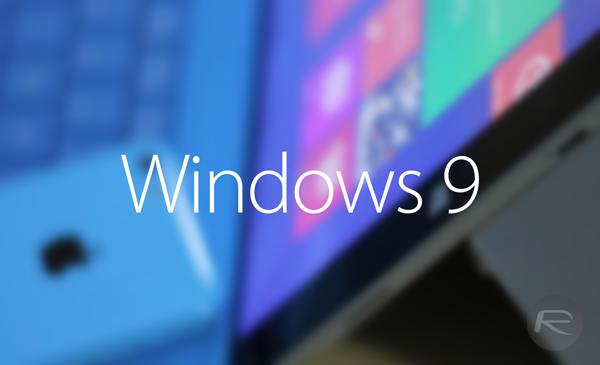 Windows 9 new
