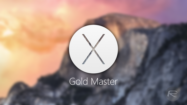 Yosemite Gold Master main