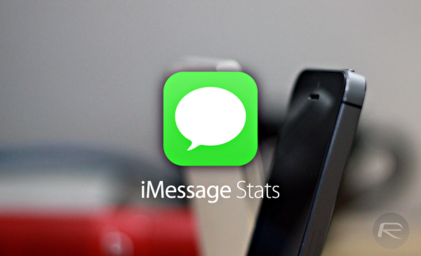 iMessage Stats main