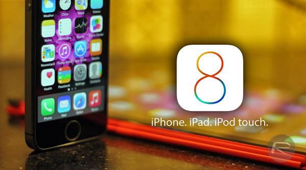 iOS 8 download main