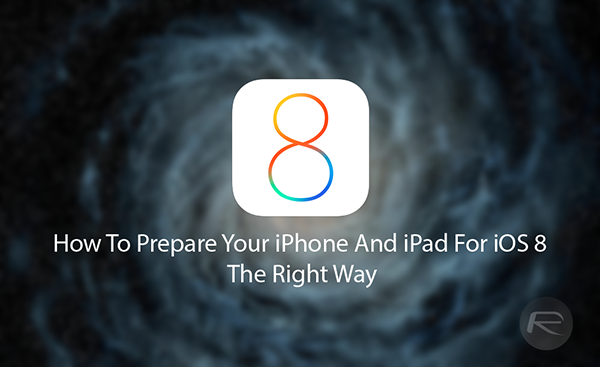 iOS 8 install main