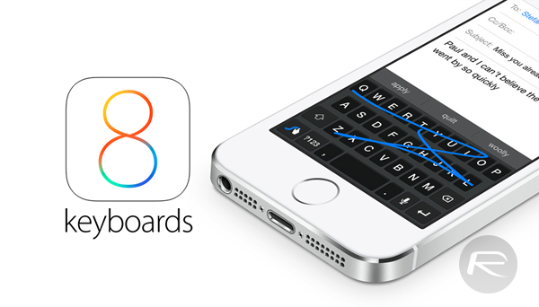 iOS 8 keyboards