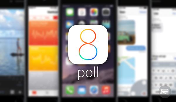 iOS 8 poll