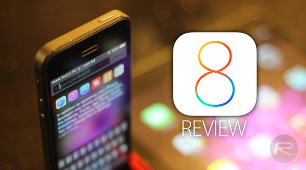 iOS 8 review main
