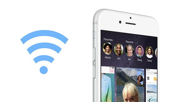 iOS 8 wifi