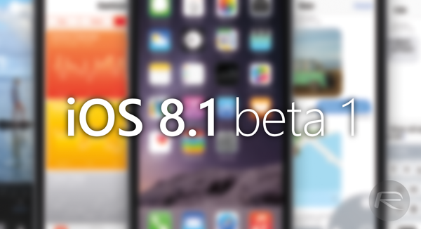 iOS 81 beta 1 main