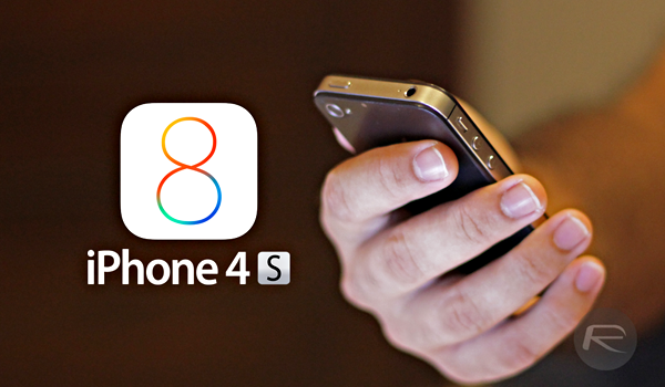 iPhone 4s iOS 8